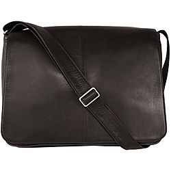 Latico 'Heritage' Black Leather Laptop Messenger Bag | Gift Ideas ...