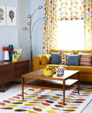 Swinging 70s Style Retro Style Living Room Retro Living Rooms