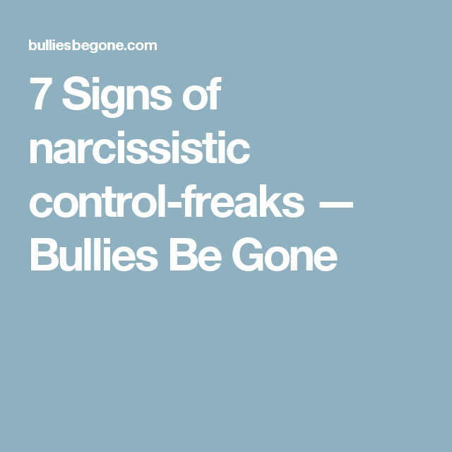 Signs of a control freak in a relationship