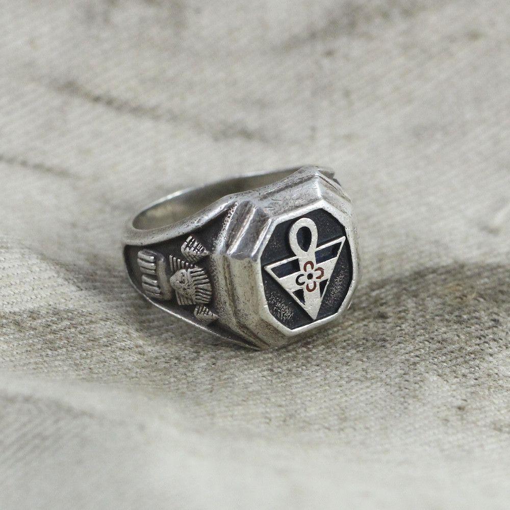 Masonic Rosicrucian Order Amorc Ring - Size 8.25