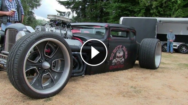Stunning Bad Ass Hot Rod This Custom Rat Rod Built By