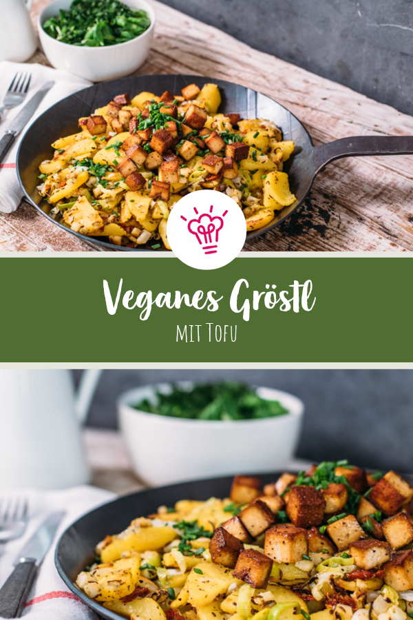 Veganes Grostl Mit Tofu Sevencooks Rezept Rezepte Vegane Rezepte Deftig Leckere Vegane Rezepte