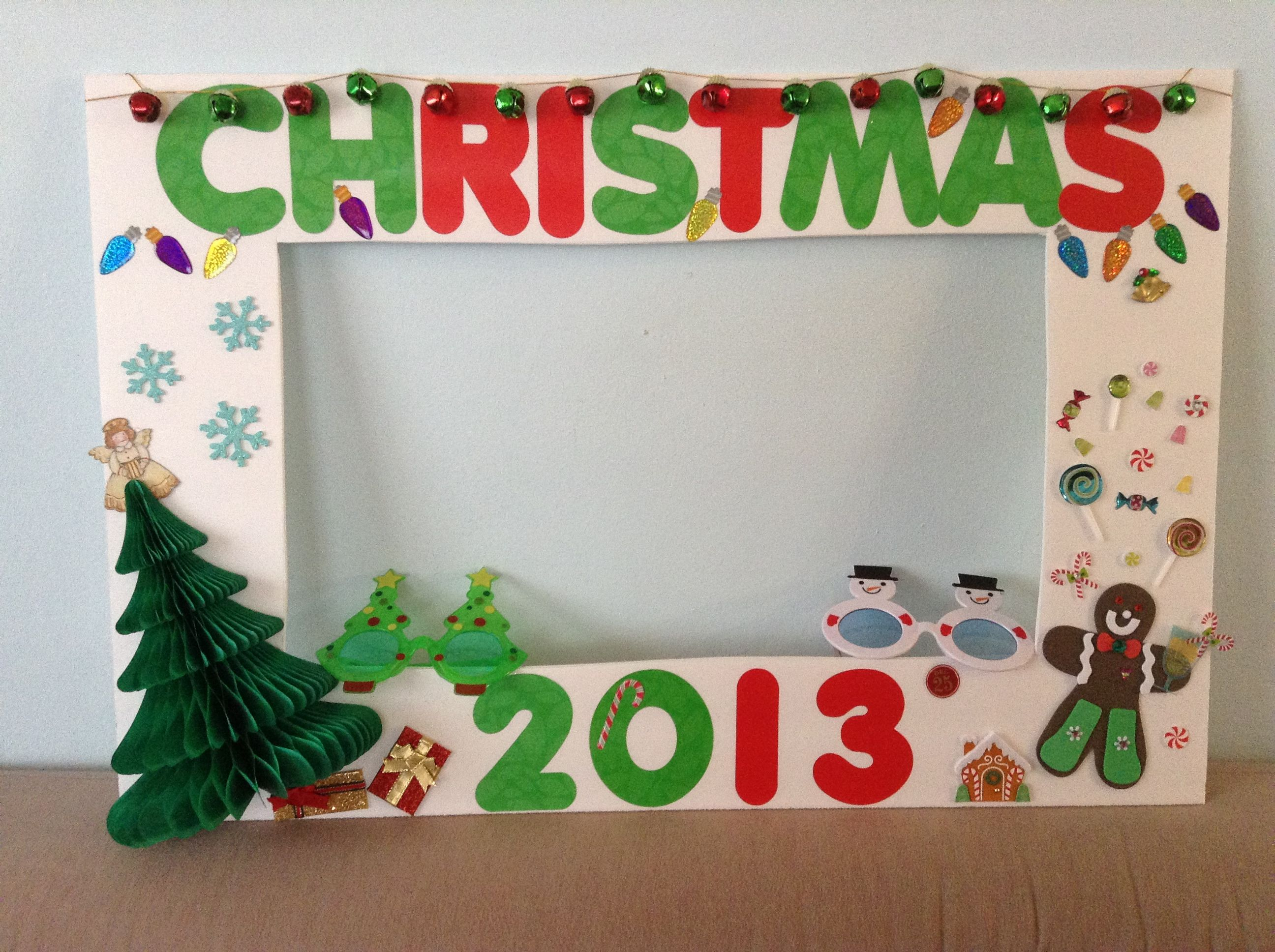 My Christmas photo booth Holiday Pinterest