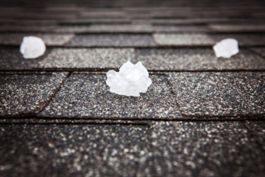 What To Do When You Find Hail Damage To Your Roof In 2020 Roof Hail Hail Storm
