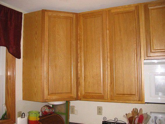 Kitchen Cabinet Kings' Carolina Oak assembled kitchen ...