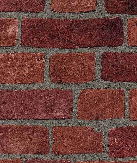 Red Brick Wallpaper Realistic Looking Embossed