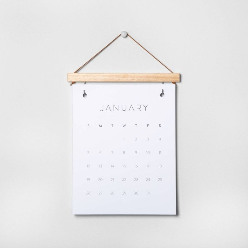 Chip And Jo Just Launched Their Target Holiday Collection In 2020 Hanging Calendar Desk Calendars Diy Desk Calendar