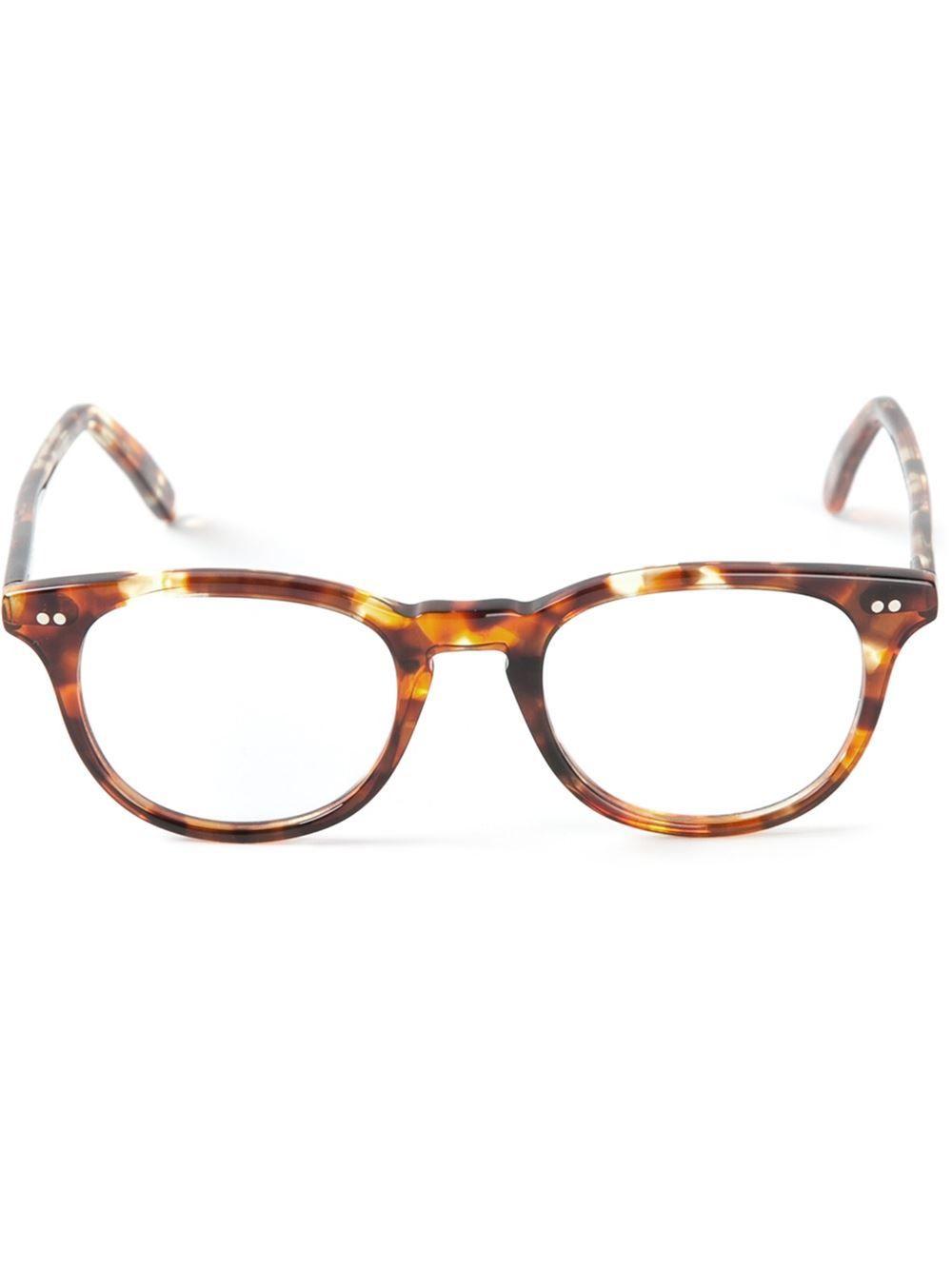 Cutler & Gross Brille Mit Runden Gläsern - Mode De Vue - Farfetch ...