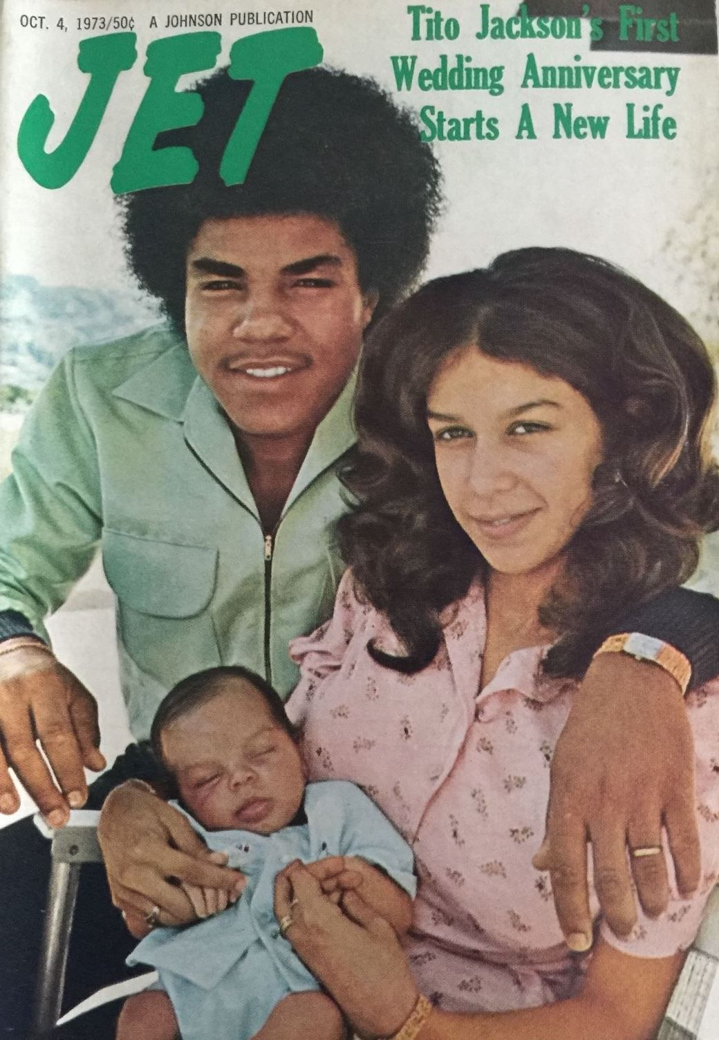 Jet Tito Dee Dee Jackson W Their Newborn Son Toriano Adaryll