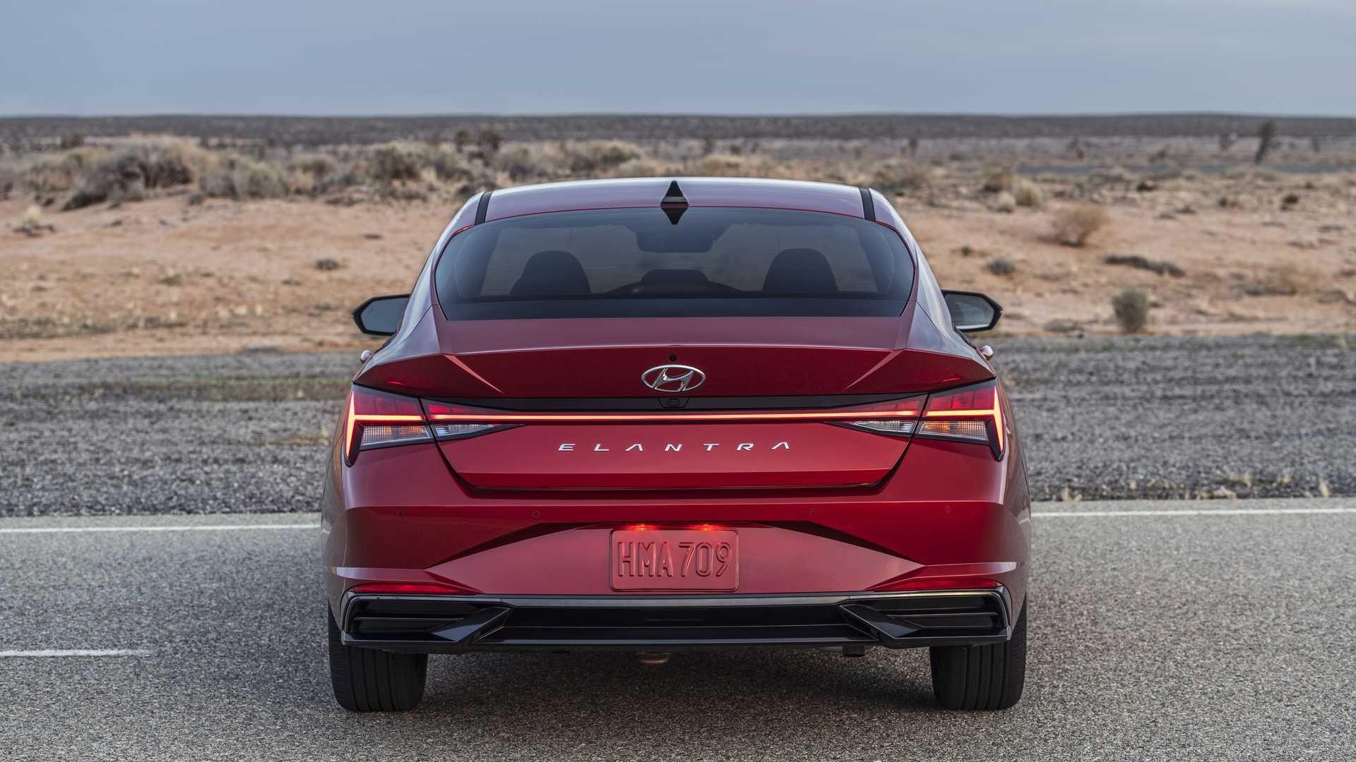 Hyundai Elantra 2021 Hyundai Elantra Elantra Hyundai