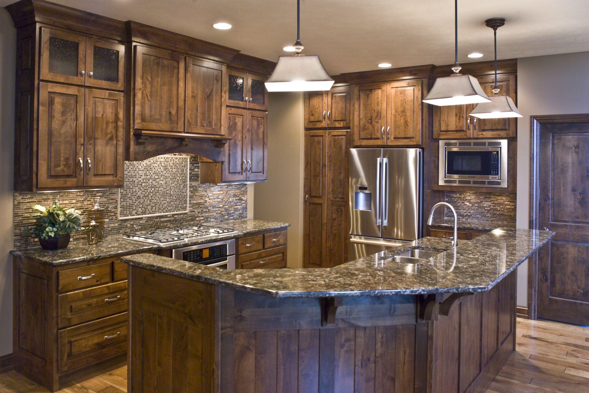 Knotty Alder Kitchen (Cultivate.com) | New Home | Pinterest | Cocinas