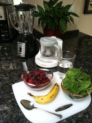 Baby Brezza Green Smoothies from blog contributor Kathryn Cloward: http://www.babybrezza.com/blog/baby-brezza-green-smoothies/#