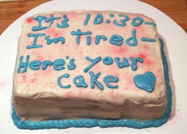 funny birthday cakes funnybirthdaycakemessages17jpg Stuff I