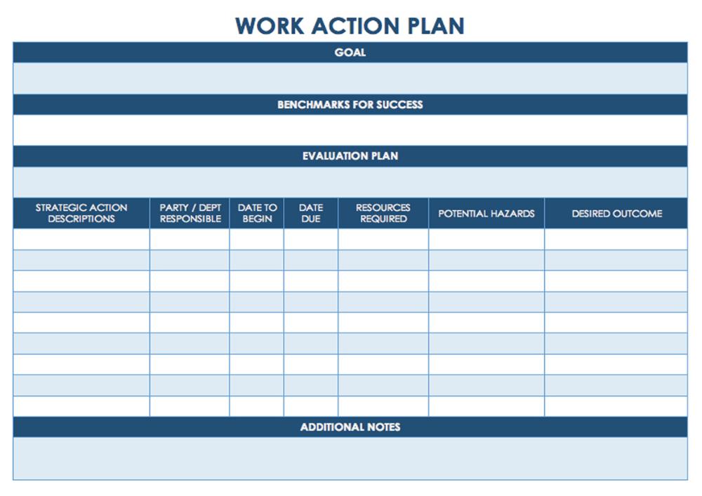 Business Project Action Plan Smart Template Sample Task Management Template Worksheet Calendar Printable Action Plan Template Action Plan Smart Action Plan