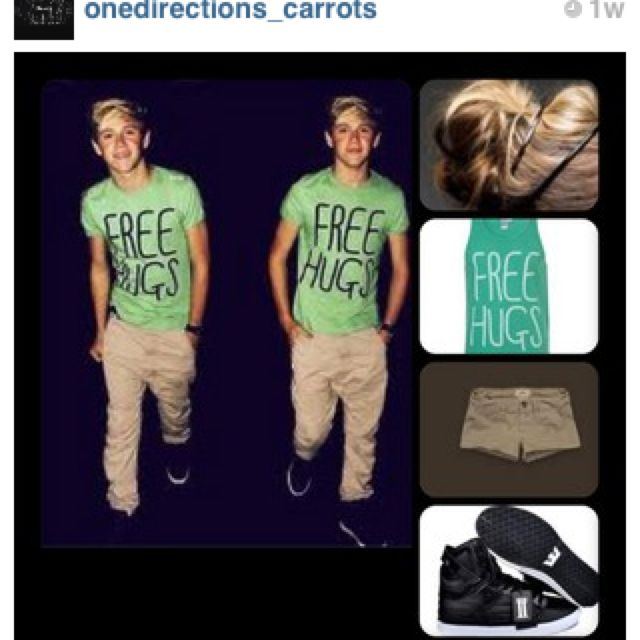Mrs.Horan outfit? I think yesss(: