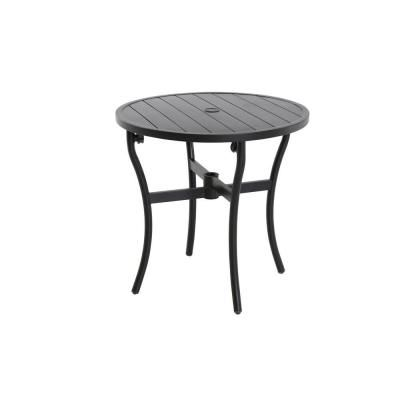 Magnificent Hampton Bay Andrews 28 In Patio Bistro Table Fts60734A Br Alphanode Cool Chair Designs And Ideas Alphanodeonline