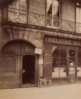 Balcon Rue Saint-Jacques 67 par Eugène Atget 1905