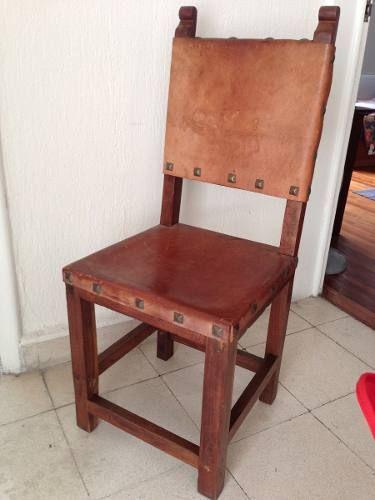 sillas de comedor rusticas en madera - Google Search | sillas en ...