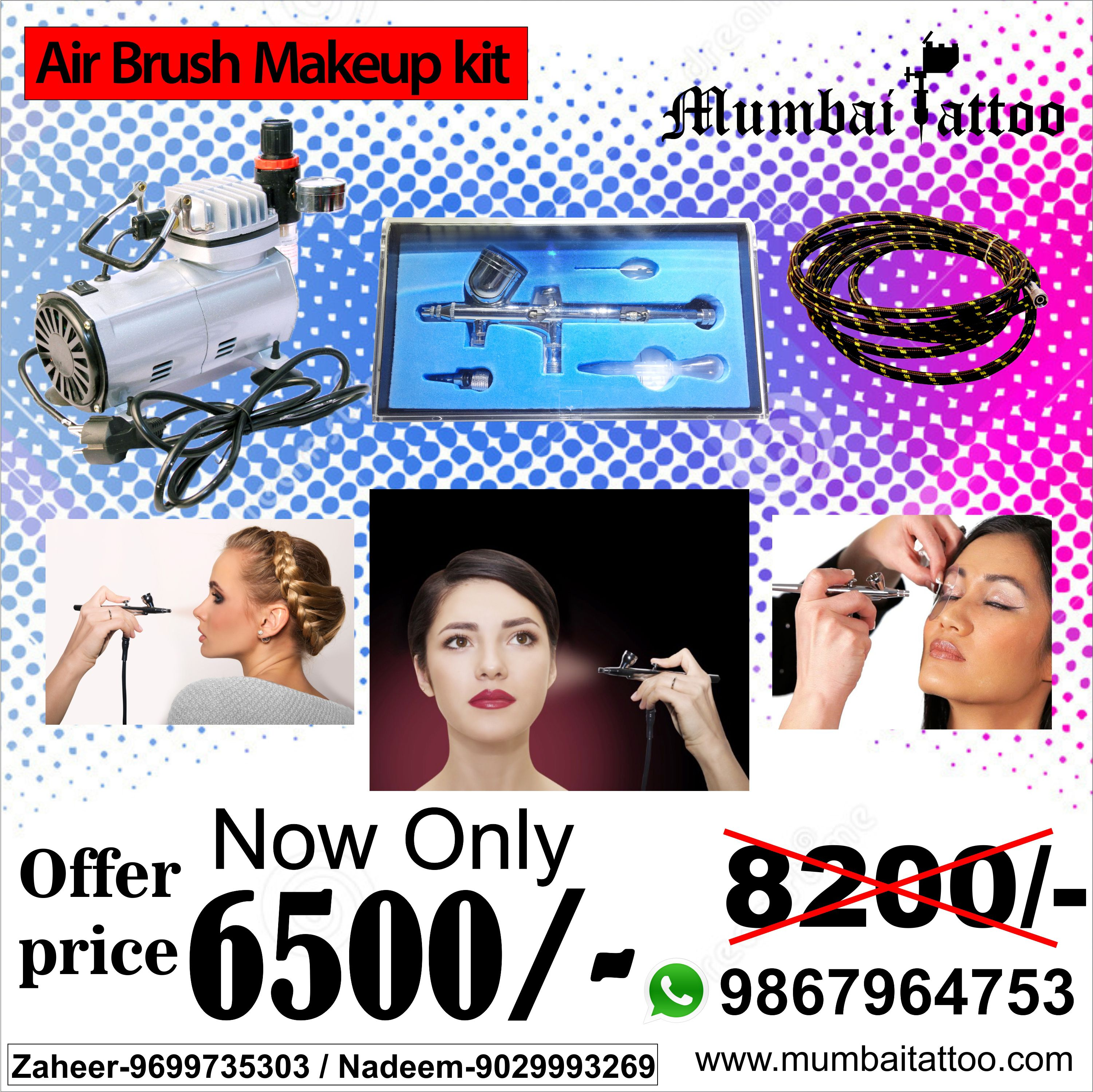 Airbrush makeup kit for more detail about tattoo prodict
