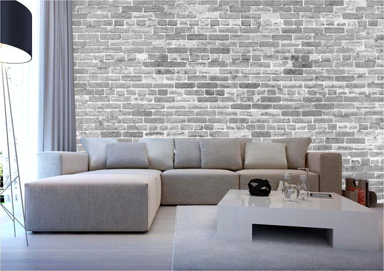 Deco Chambre Avec Papier Peint Brique In 2020 Brick Australian