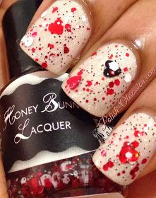 Polish Obsession: Honey Bunny Lacquer - Love Hate Love