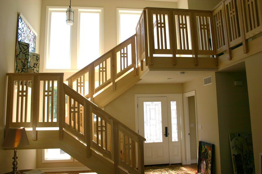 Best Arts And Crafts Railings For Stairs Image Image Image 400 x 300