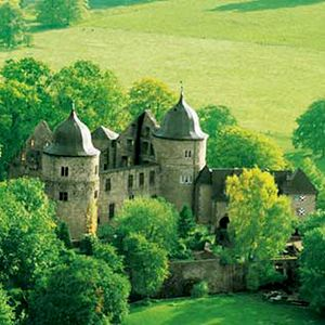 Best Affordable Castle Hotels | Dornröschenschloss Sababurg, Germany | Via Travel + Leisure.