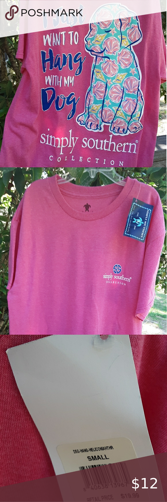 NWT Simply Southern Tee in 2020 Simply southern tees