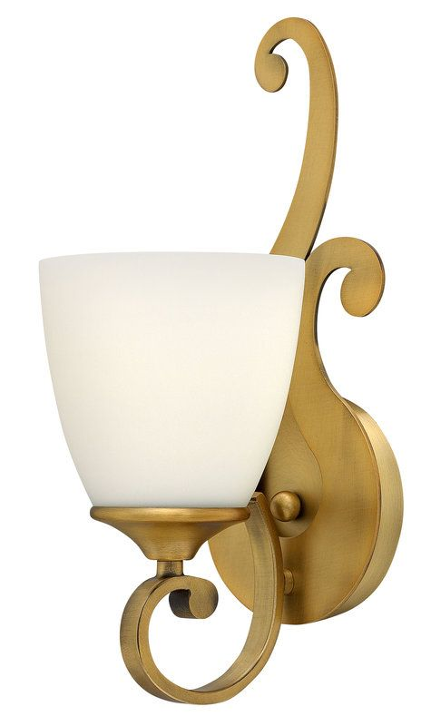 Buy the Hinkley Lighting 56320BR Brushed Bronze Direct ... on Bathroom Sconce Lights Brushed Bronze id=51701