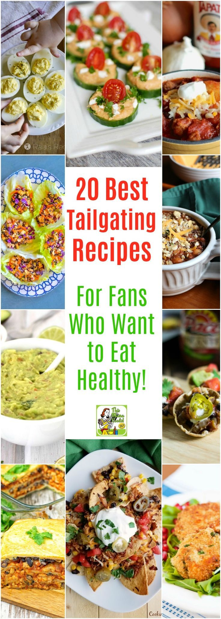 20 Best Tailgating Recipes for Fans Who Want to Eat Healthy!  Tired of going to a tailgating party just to find there's nothing you can eat because of a food sensitivity, allergy or special diet? Here's a collection of delicious top tailgating recipes that will certainly please football fans that want to eat healthy or who are on special diets from gluten free to vegan. #tailgatefood