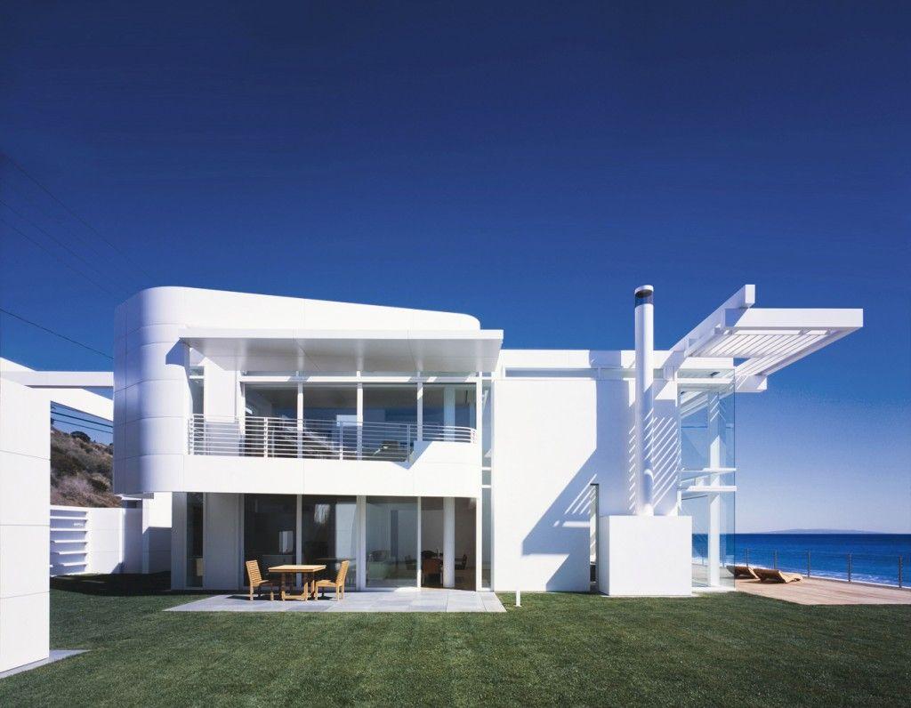 Southern california beach house richard meier partners architects