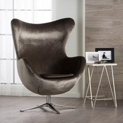 Magnificent Gordon New Velvet Swivel Chair Gray Christopher Knight Machost Co Dining Chair Design Ideas Machostcouk