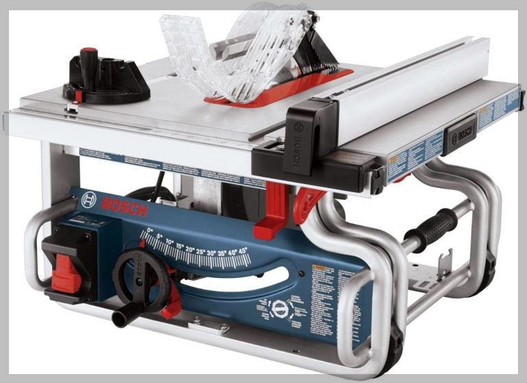 Bosch Gts1031 With Images Portable Table Saw Table Saw Bosch Table Saw
