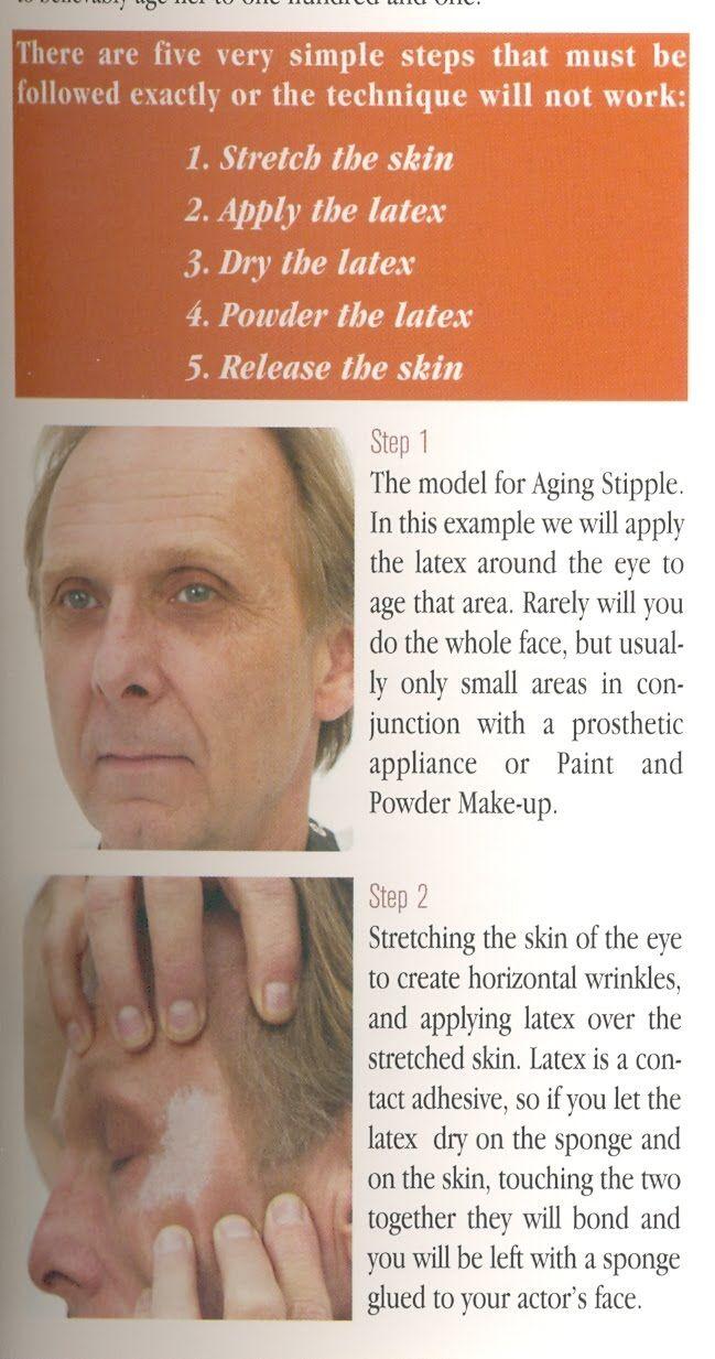 Oficina de Cabelo e Maquiagem 6: Envelhecimento parte II / Tridimensional