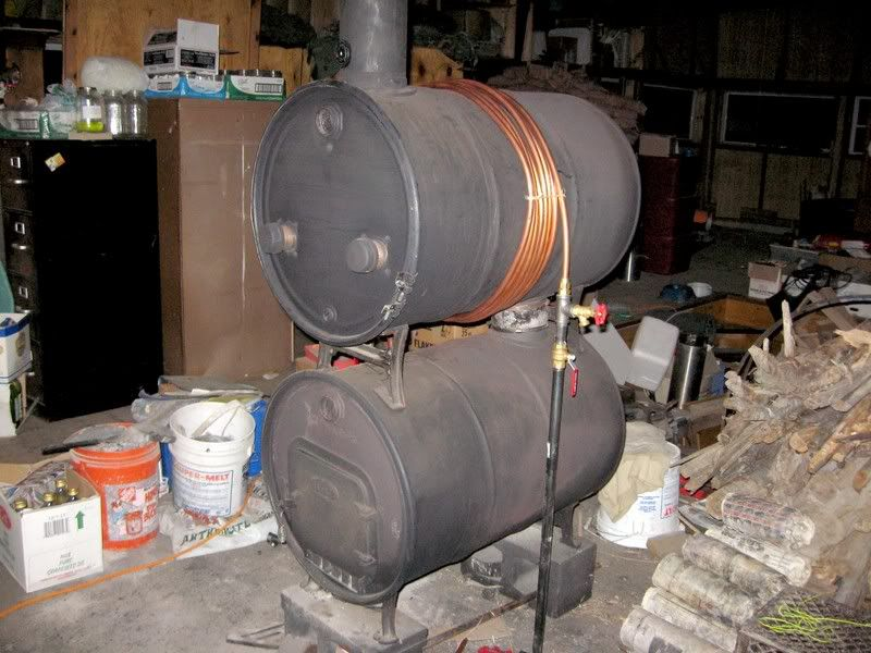 Home Made Wood Stove - Survivalist Forum Pre-Apocalypse Prep - Homemade Wood Stoves WB Designs