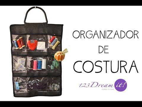 Organizador de Costura - YouTube