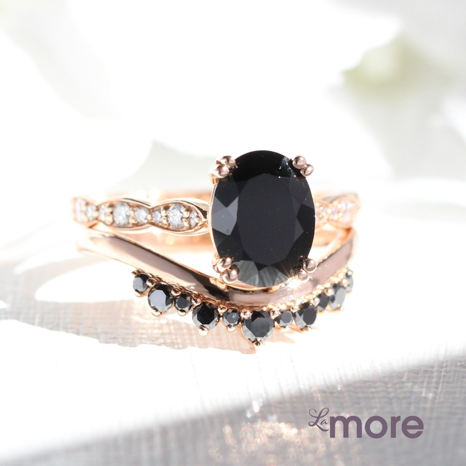 Looking For A Best Black Diamond Alternative Ring Black Spinel Engagement Rings Will Be The Perfect Choice For You Durable And Affo Black Diamond Wedding Rings