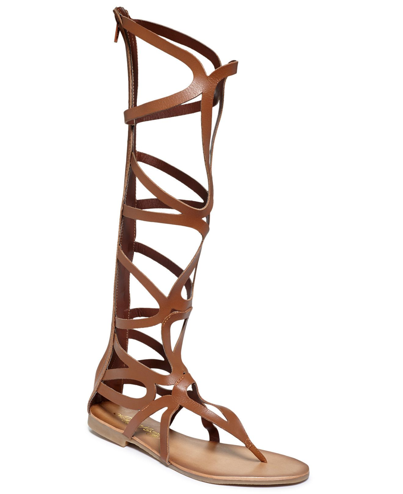 e97270cfdfb3 Naughty Monkey Spartacus Tall Shaft Gladiator Sandals - Shoes - Macy s