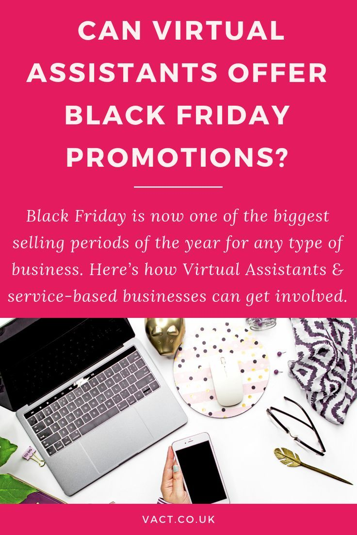 Can Virtual Assistants offer Black Friday Promotions