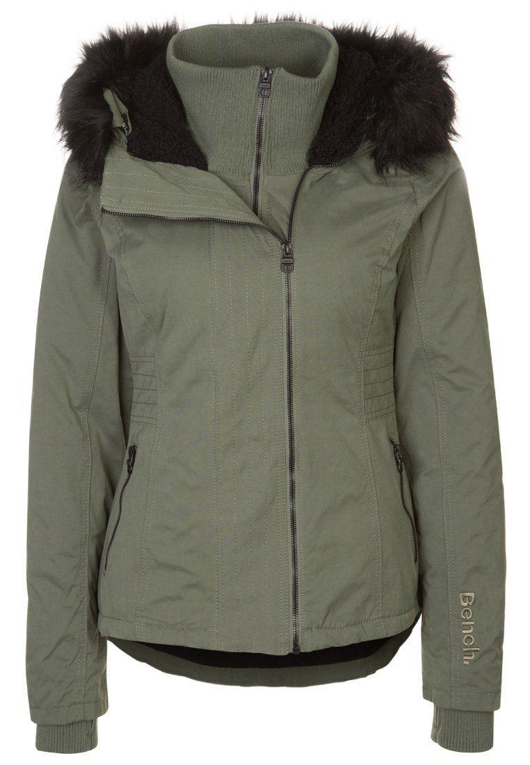 Bench Kidder Winter Jacket Oliv Zalando Co Uk Winter Jackets Jackets Winter Jacket Sale [ 1100 x 762 Pixel ]
