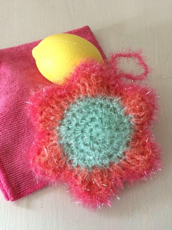 Splish, splash - Bubble Schwamm häkeln   Splish splash, Crochet and ...