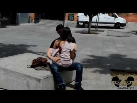 Kissing Hot Spanish Girls Gone Steamy Kissing Prank Funny Videos