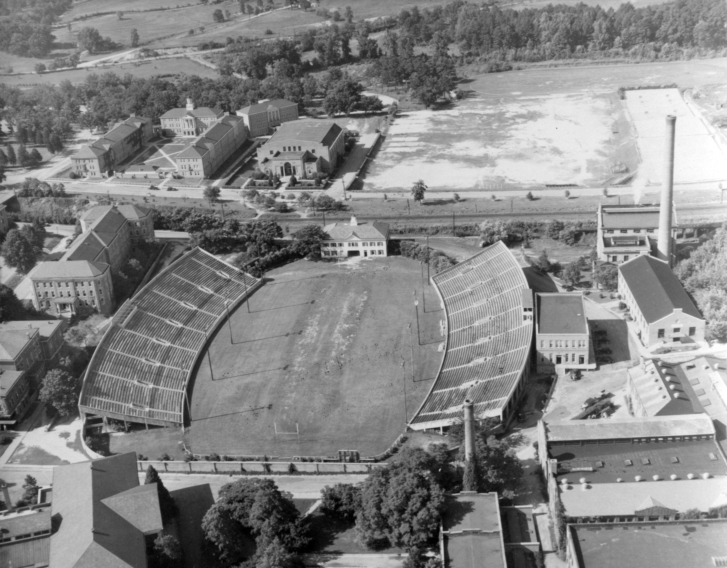 Riddick Stadium 1940s Nc State Nc State University Nc State Football