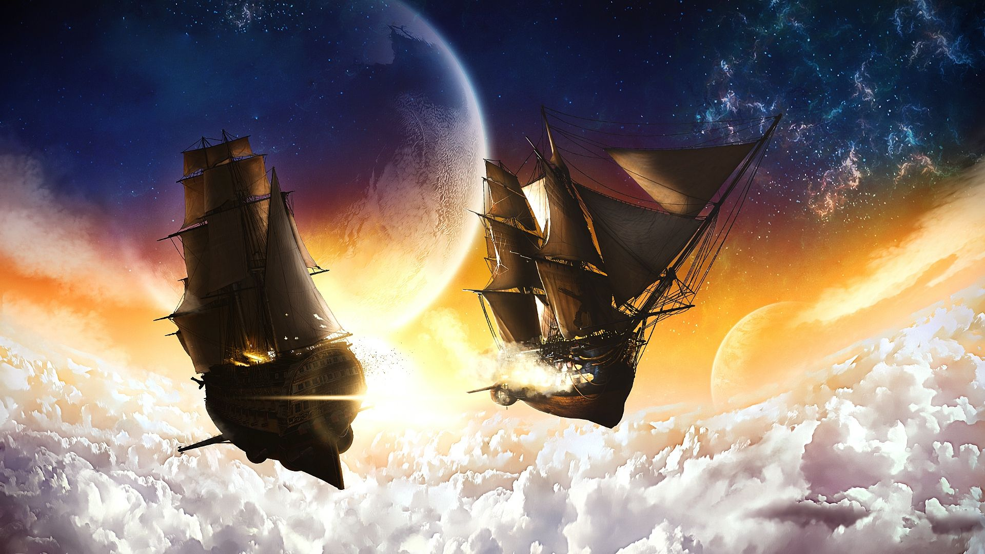 Image result for pirate airships Science fiction art