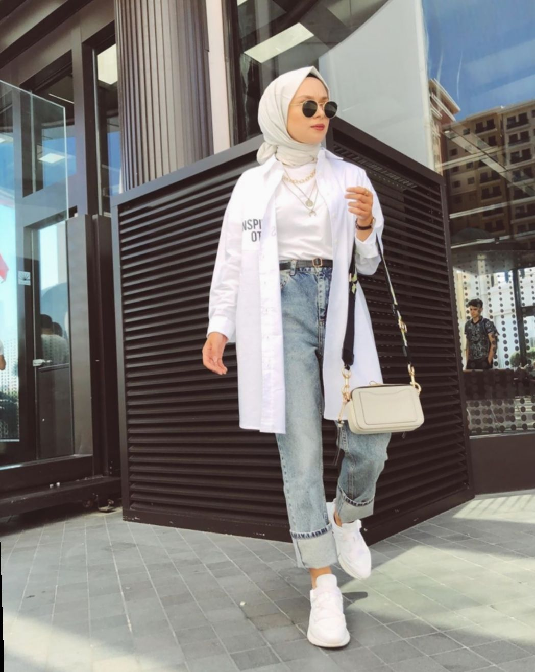 ✔ Fashion Summer Hijab Outfit #gimaashi #photooftheday #beautiful