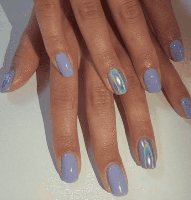 40 Best Chrome Nail Ideas