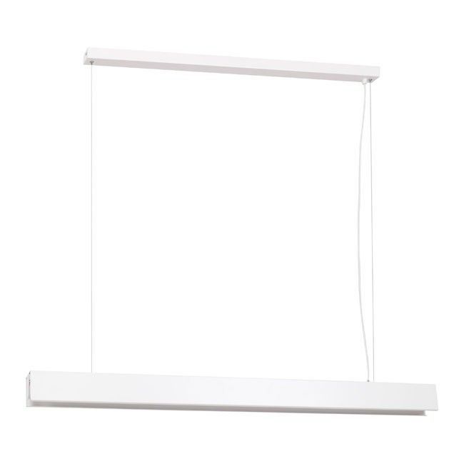 Lampa Wiszaca Led Luminex Linear 1xt8 120 Cm Biala White Pendant Lamp Pendant Lamp Lamp