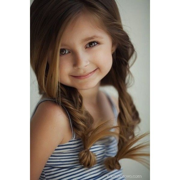 Easy Girl Hairstyles For Dads: Cute Hair Styles For Girls Boys Liked On Polyvore