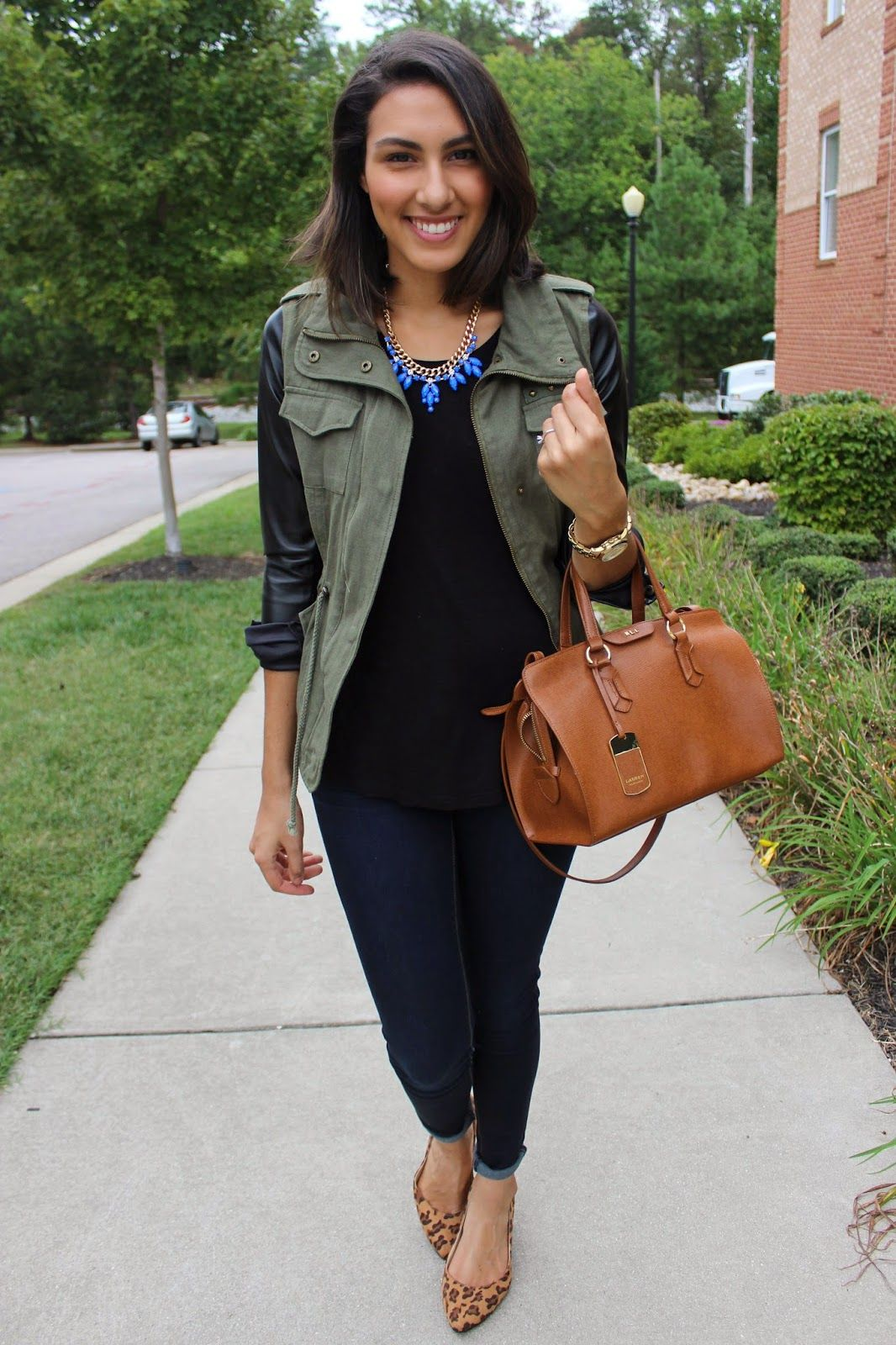 Pin by Lookastic on Ballet Flats & Loafers | Olive green