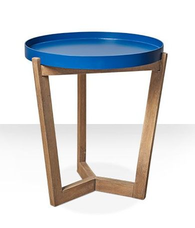Tray side table | Blue | Glenn- as found on swoon editions